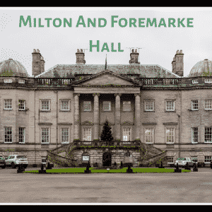 Dog Walks In Derbyshire – Milton and Foremarke Hall