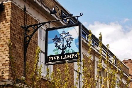 Dog Friendly Five Lamps